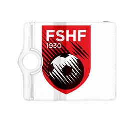 Crest Of The Albanian National Football Team Kindle Fire Hdx 8 9  Flip 360 Case
