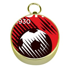 Crest Of The Albanian National Football Team Gold Compasses