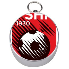 Crest Of The Albanian National Football Team Silver Compasses