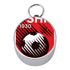 Crest Of The Albanian National Football Team Mini Silver Compasses
