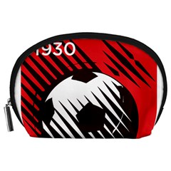 Crest Of The Albanian National Football Team Accessory Pouches (large)