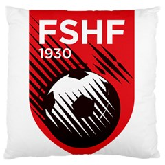 Crest Of The Albanian National Football Team Standard Flano Cushion Case (two Sides)