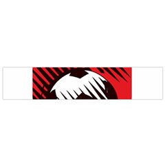 Crest Of The Albanian National Football Team Flano Scarf (small)