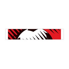 Crest Of The Albanian National Football Team Flano Scarf (mini)