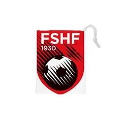 Crest Of The Albanian National Football Team Drawstring Pouches (xs)