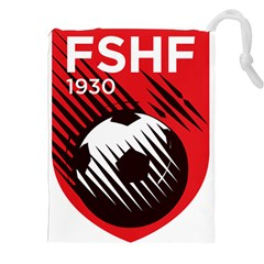 Crest Of The Albanian National Football Team Drawstring Pouches (xxl)