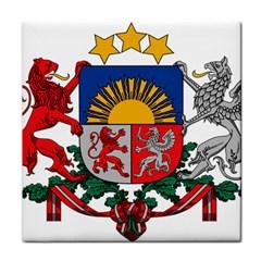 Coat Of Arms Of Latvia Tile Coasters