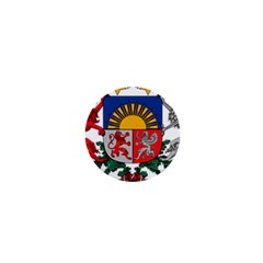 Coat Of Arms Of Latvia 1  Mini Buttons