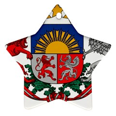 Coat Of Arms Of Latvia Ornament (star)