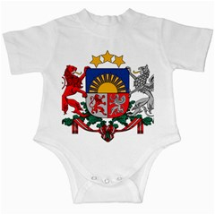 Coat Of Arms Of Latvia Infant Creepers