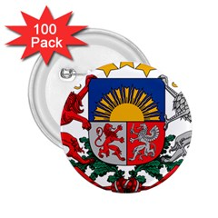 Coat Of Arms Of Latvia 2 25  Buttons (100 Pack)