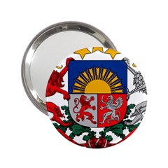 Coat Of Arms Of Latvia 2 25  Handbag Mirrors
