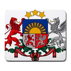 Coat Of Arms Of Latvia Large Mousepads