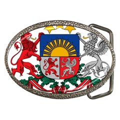 Coat Of Arms Of Latvia Belt Buckles