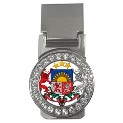 Coat Of Arms Of Latvia Money Clips (cz)