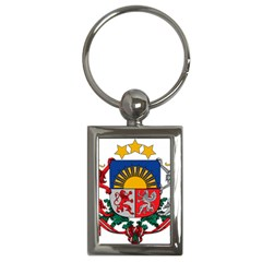 Coat Of Arms Of Latvia Key Chains (rectangle)