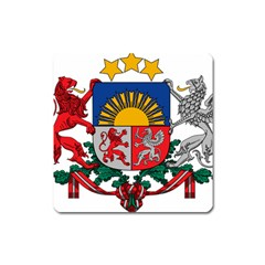 Coat Of Arms Of Latvia Square Magnet