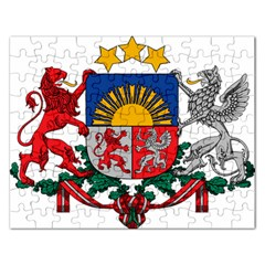 Coat Of Arms Of Latvia Rectangular Jigsaw Puzzl