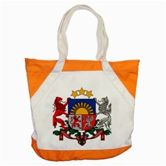 Coat Of Arms Of Latvia Accent Tote Bag