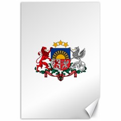 Coat Of Arms Of Latvia Canvas 20  X 30