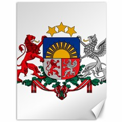 Coat Of Arms Of Latvia Canvas 36  X 48