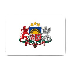 Coat Of Arms Of Latvia Small Doormat