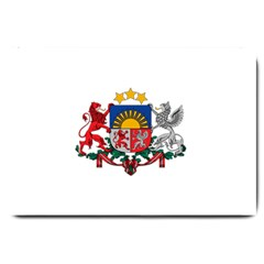 Coat Of Arms Of Latvia Large Doormat