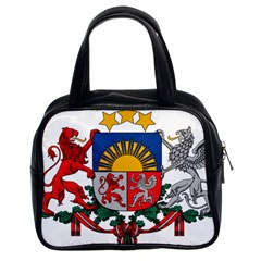 Coat Of Arms Of Latvia Classic Handbags (2 Sides)