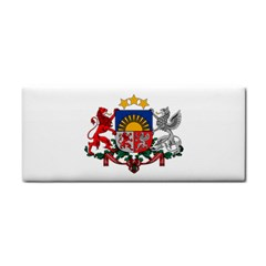 Coat Of Arms Of Latvia Hand Towel
