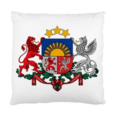 Coat Of Arms Of Latvia Standard Cushion Case (one Side)