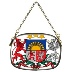 Coat Of Arms Of Latvia Chain Purses (two Sides)