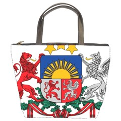 Coat Of Arms Of Latvia Bucket Bags