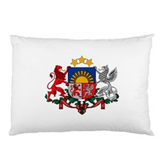Coat Of Arms Of Latvia Pillow Case
