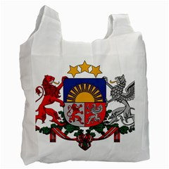 Coat Of Arms Of Latvia Recycle Bag (one Side)