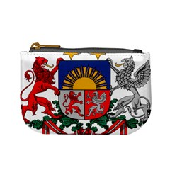 Coat Of Arms Of Latvia Mini Coin Purses