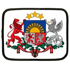 Coat Of Arms Of Latvia Netbook Case (xl)