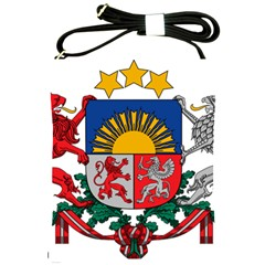 Coat Of Arms Of Latvia Shoulder Sling Bags