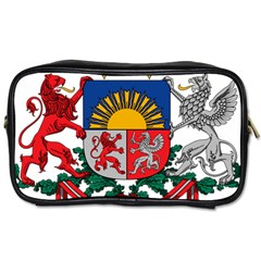 Coat Of Arms Of Latvia Toiletries Bags 2 Side