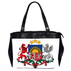 Coat Of Arms Of Latvia Office Handbags (2 Sides)