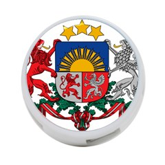 Coat Of Arms Of Latvia 4 Port Usb Hub (two Sides)