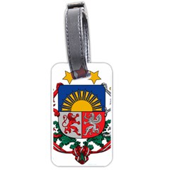 Coat Of Arms Of Latvia Luggage Tags (two Sides)