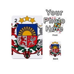 Coat Of Arms Of Latvia Playing Cards 54 (mini)