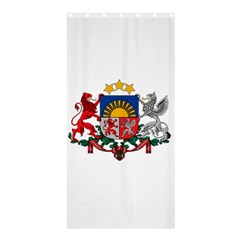 Coat Of Arms Of Latvia Shower Curtain 36  X 72  (stall)