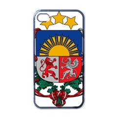 Coat Of Arms Of Latvia Apple Iphone 4 Case (black)