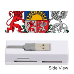 Coat Of Arms Of Latvia Memory Card Reader (stick)