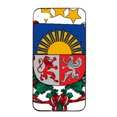 Coat Of Arms Of Latvia Apple Iphone 4/4s Seamless Case (black)