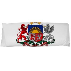 Coat Of Arms Of Latvia Body Pillow Case Dakimakura (two Sides)