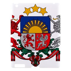Coat Of Arms Of Latvia Apple Ipad 3/4 Hardshell Case