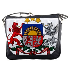 Coat Of Arms Of Latvia Messenger Bags