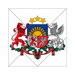 Coat Of Arms Of Latvia Acrylic Tangram Puzzle (6  X 6 )